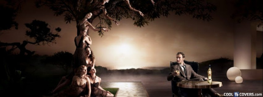 Abstract Woman In A Tree Fb Cover Facebook Covers Cool Fb