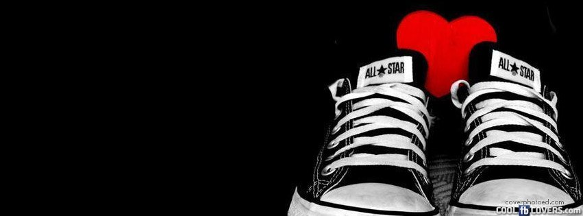 e757a8feea6a4f Chuck Taylors Heart Cover Facebook Covers - Cool FB Covers - Use our ...