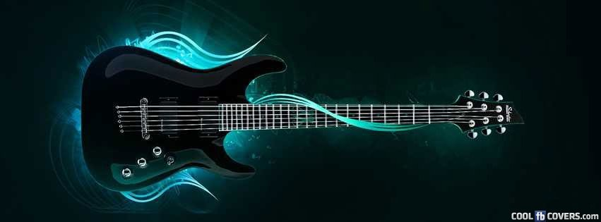 Cool Electric Guitar Facebook Covers