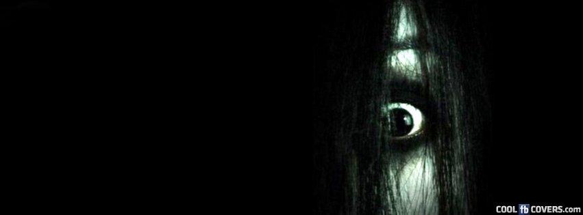 Halloween Sadako Eye Facebook Covers Cool Fb Covers Use