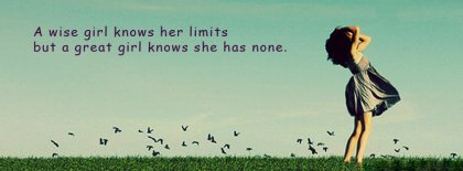 A Wise Girl Facebook Covers