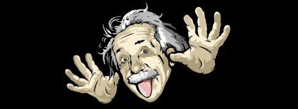 Albert Einstein Funny memes facebook covers cool fb covers use our facebook cover