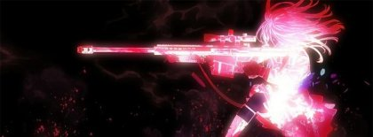 Anime Girl Pink Gun Fb Covers Facebook Covers