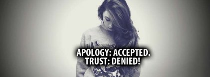 Apology And Trust Facebook Covers