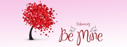 Be Mine Facebook Covers