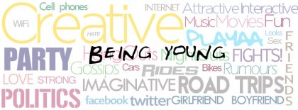 Being Young Facebook Covers