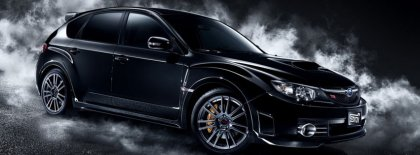 Black Subaru Impreza Sti Cover Facebook Covers