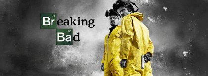 Breakin Bad Walt Jesse Grey Sky Facebook Covers