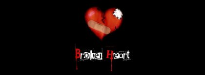 Broken Heart Facebook Covers