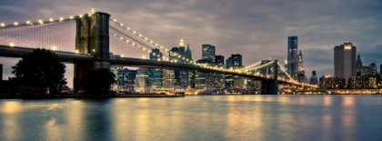 Brooklyn Bridge New York Fb Cover Facebook Covers