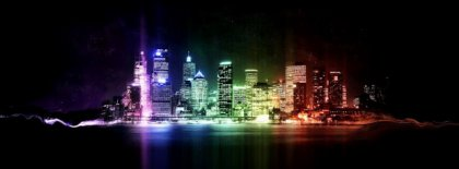 Chicago Lights At Nigt Fb Cover Facebook Covers