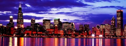 Chicago Skyline Fb Cover Facebook Covers