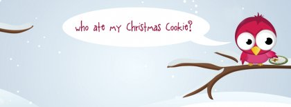Christmas Cookie Facebook Covers