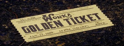 Classic Ticket Cover Facebook Covers