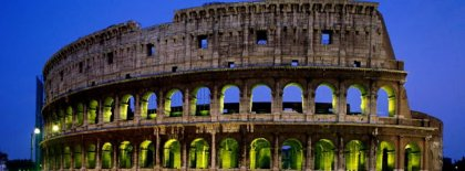 Coliseum Rome Italy Fb Cover Facebook Covers