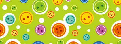 Colorful Buttons Facebook Covers