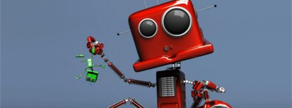 Cool Robot Facebook Covers
