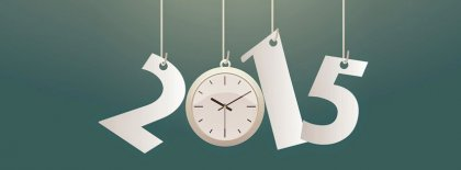 Countdown Happy New Year 2015 Facebook Covers