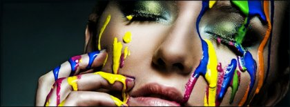Covered In Paint Cover Facebook Covers