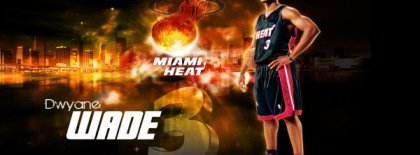 Dwyane Wade Facebook Covers