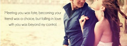 Falling Inlove With You Facebook Covers