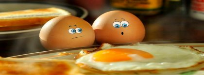 Funny Eggs Facebook Covers
