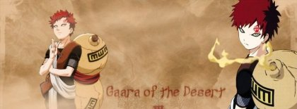 Gaara Of The Desert Fb Covers Facebook Covers