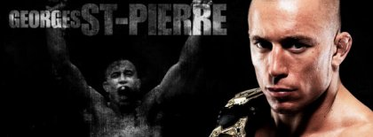 Georges St Pierre Fb Cover Facebook Covers