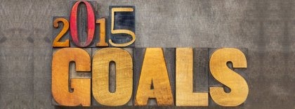 Goals Happy New Year 2015 Facebook Covers