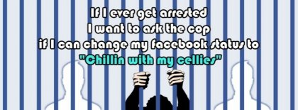 Got Arrested Facebook Covers