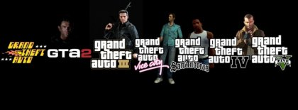 Grand Theft Auto Facebook Covers