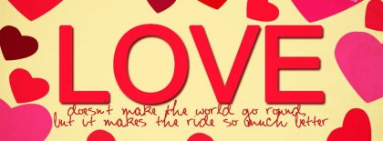 Hearts And Love Facebook Covers