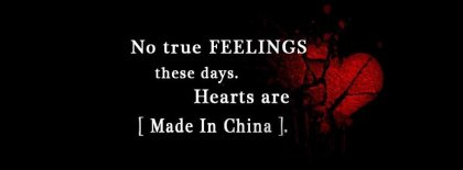 Hearts In China Facebook Covers