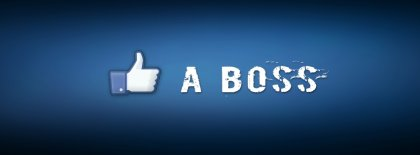 Like A Boss Cover Facebook Covers