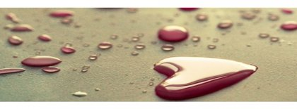 Droplets Of Love Facebook Covers