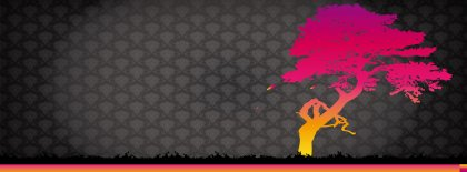 Bonzai Tree Abstract Facebook Covers