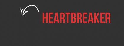 Heart Breaker Facebook Covers