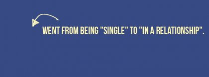 Single To Relationship Facebook Covers