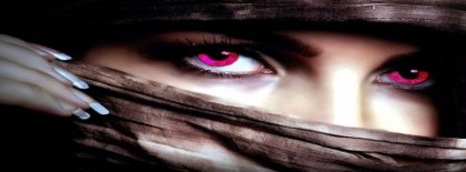 Attractive Eyes Facebook Covers