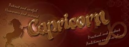 Capricorn Facebook Covers