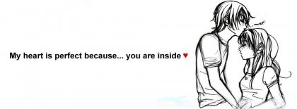 It Is Love Because Of You Facebook Covers