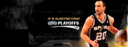 Electriying Spurs Facebook Covers