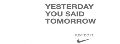 Just Do It Nike Lesons In L Facebook Covers