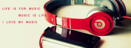 Life Is For Music Facebook Covers