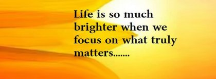 Life Is So Much Brighter Facebook Covers