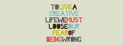 Live A Creative Life Facebook Covers