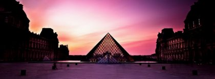 Louvre Palace And The Pyramid Fb Cover Facebook Covers