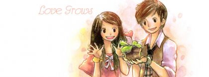 Love Grows Facebook Covers