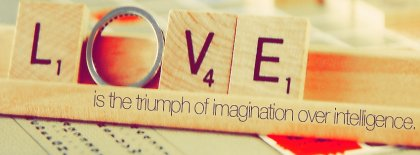 Love Is Imagination Facebook Covers