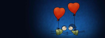 Love Is In The Air Facebook Covers